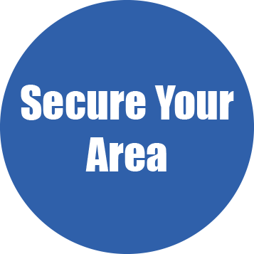 secure your area